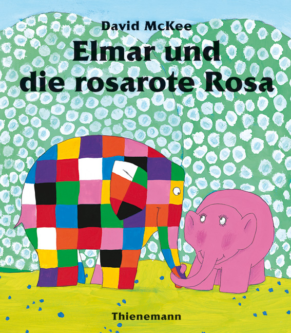rezension elmar und die rosarote rosa stephis b cher blog. Black Bedroom Furniture Sets. Home Design Ideas