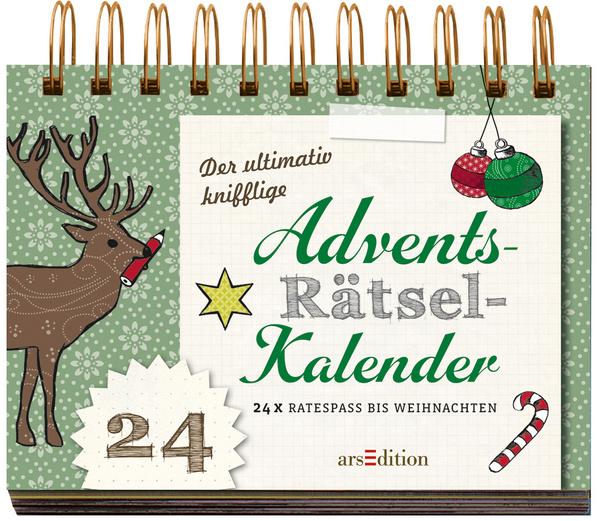 Rezension der ultimativ knifflige advents r tsel kalender for Adventskalender ideen fa r erwachsene