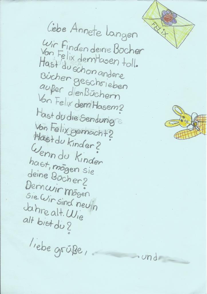 Weltbeste Briefe Von Felix : Felix stephis bücher