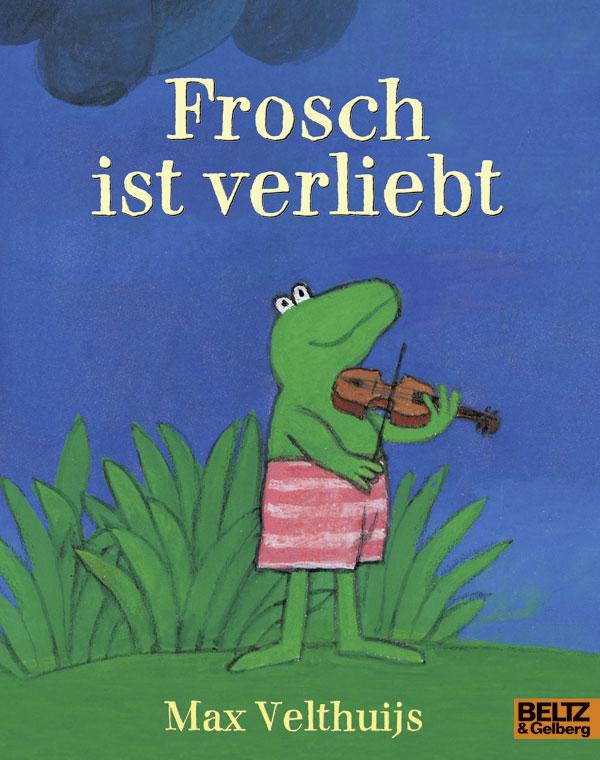 Frosch ist verliebt